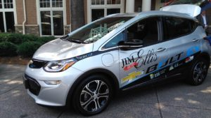 Image of a new Chevrolet Bolt, an electric vehicle, from Jim Ellis Chevrolet in Atlanta